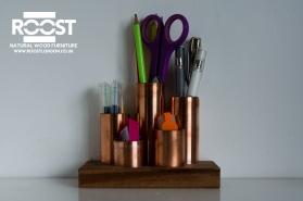 Copper Desk Tidy