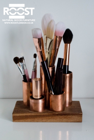 Copper Make-up Container